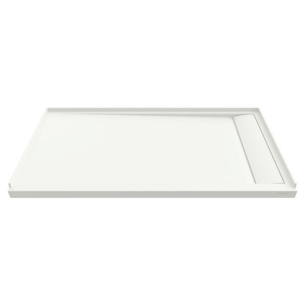 American Standard Townsend 60 x 30-inch Solid Surface Shower Base Right Drain