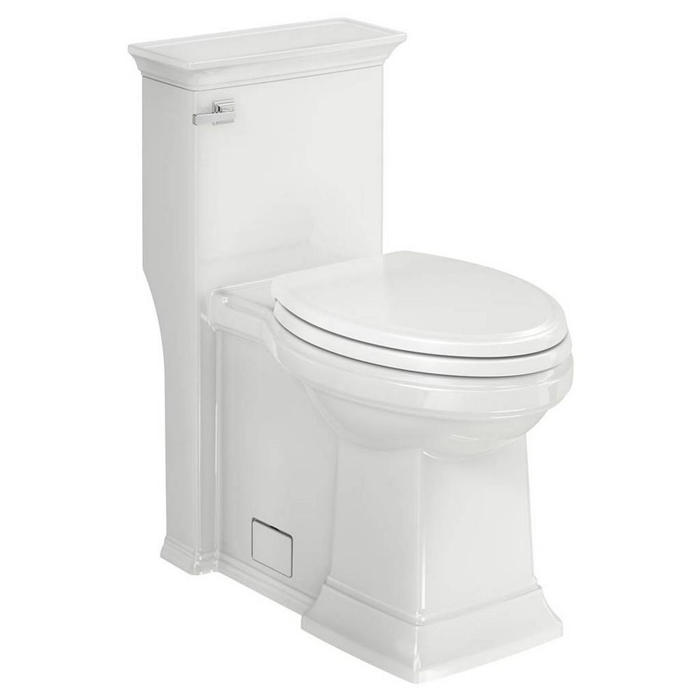 American Standard Town Square S Right Height Elongated One-Piece Toilet with Seat