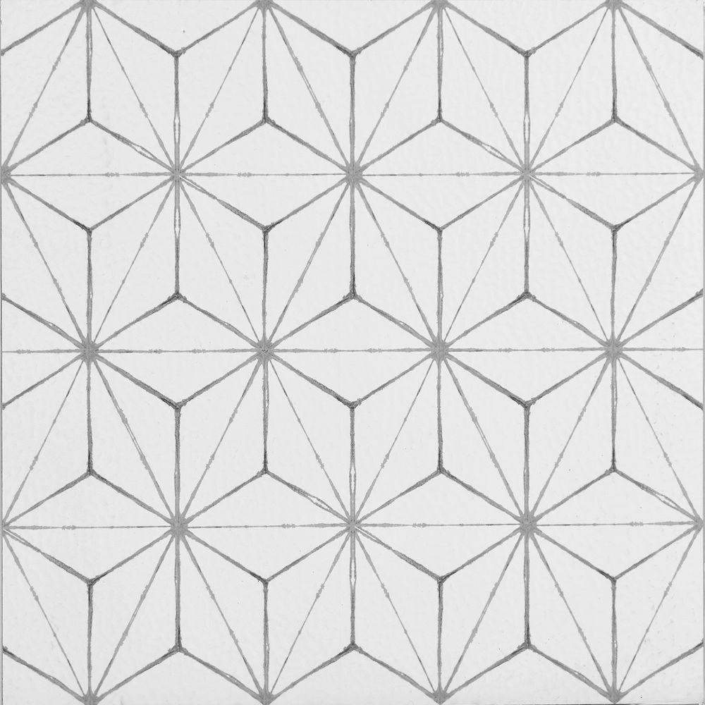 FloorPops Kikko 12-inch x 12-inch Peel and Stick Vinyl Tile Flooring (10 sq. ft. / case)