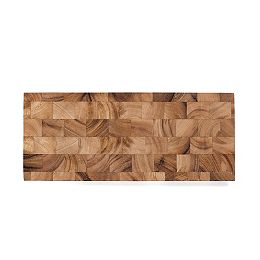 Bowery End Grain Cheese and Charcuterie Board, Acacia Wood