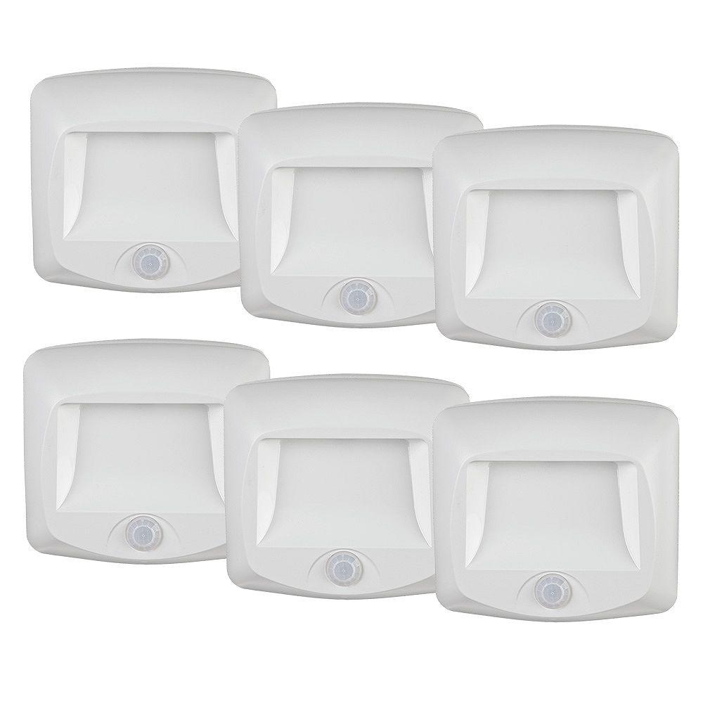 Mr.Beams Wireless Motion Sensor LED Step / Deck Light - 6 Pack