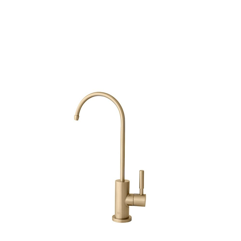 Stylish Stainless Steel Drinking Water Faucet in Gold