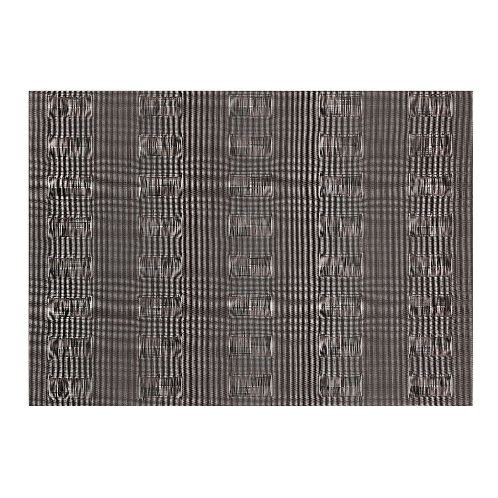 IH Casa Decor Vinyl Placemat (Ellis) (Chocolate)-Set of 12