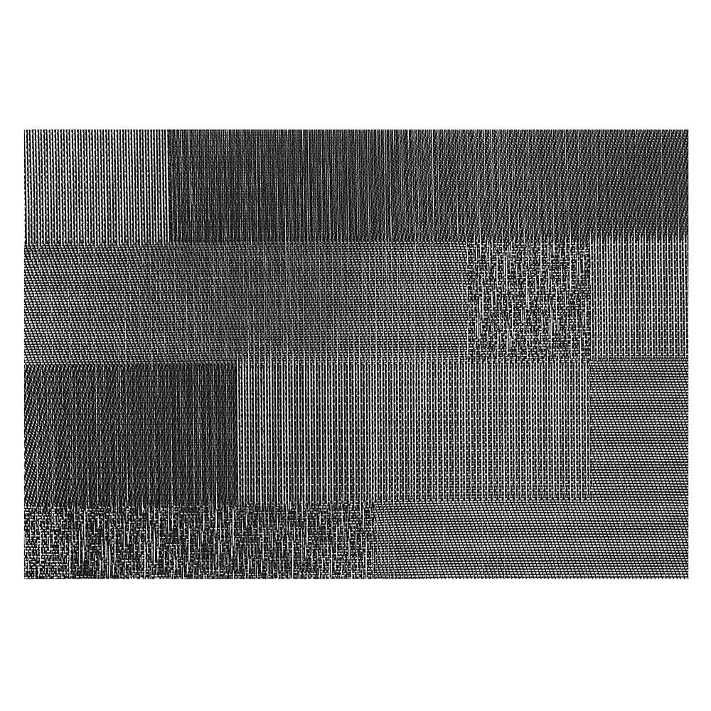 IH Casa Decor Vinyl Placemat (Mason) (Charcoal)-Set of 12