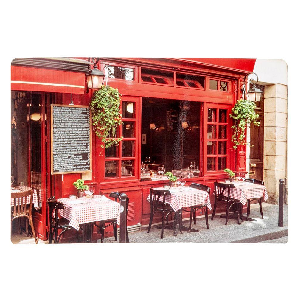 IH Casa Decor Plastic Placemat (Cafe Rouge)-Set of 12