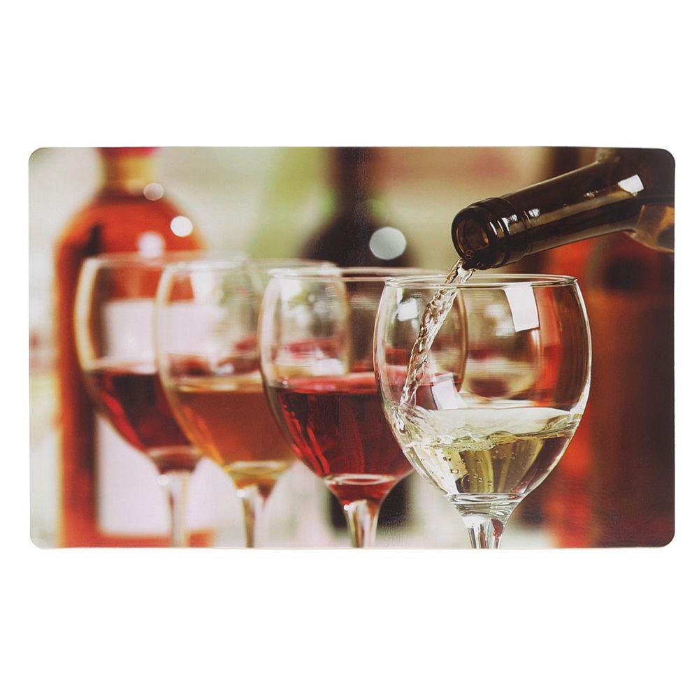 IH Casa Decor Plastic Placemat (Pouring Wine)-Set of 12