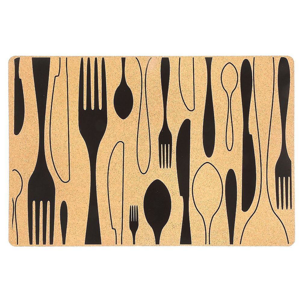 IH Casa Decor Pp Placemat (Cutlery)-Set of 12