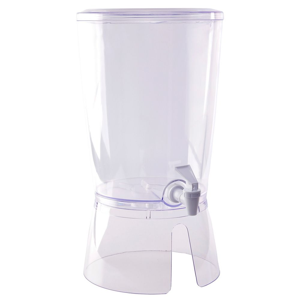 Basicwise Juice and Water Beverage Dispenser 2.35 gallon, Round
