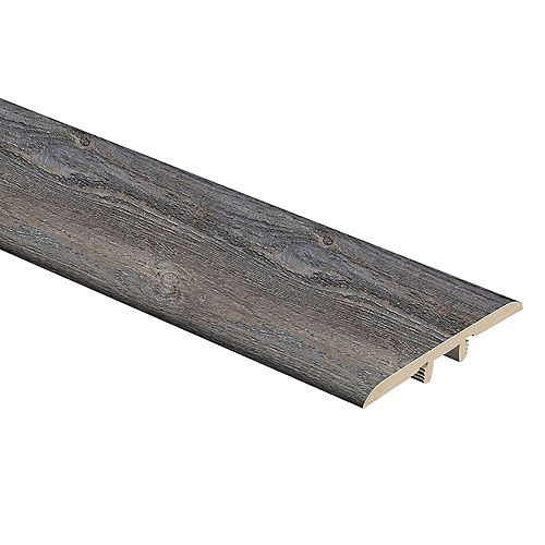 Gray Cloud 5/16-inch Thick x 1 3/4-inch Wide x 72-inch Length Vinyl T-Molding