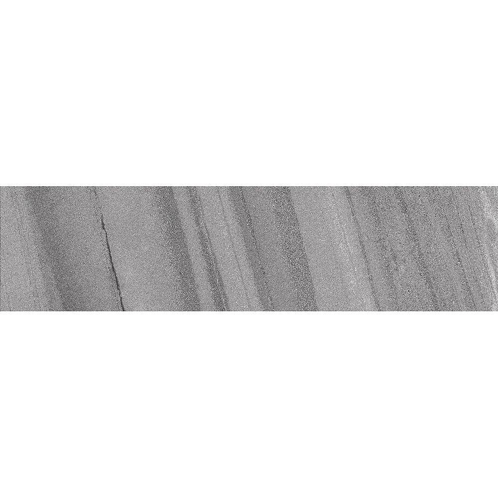 Enigma Kalahari Carbon 3-inch x 12-inch Semi Polished Porcelain Bullnose ( 20 pcs / case)