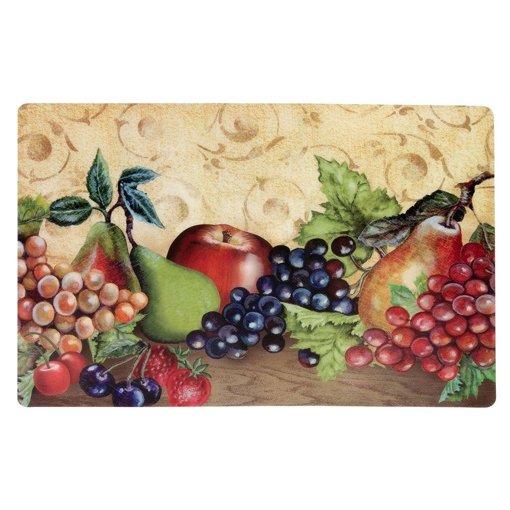 IH Casa Decor Twill Pp Placemat (Fruit Platter)-Set of 12
