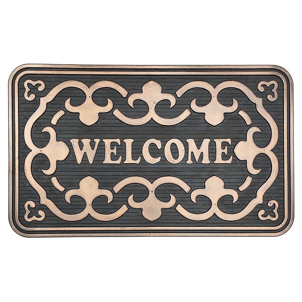 IH Casa Decor Rubber Mat (Bold Welcome)