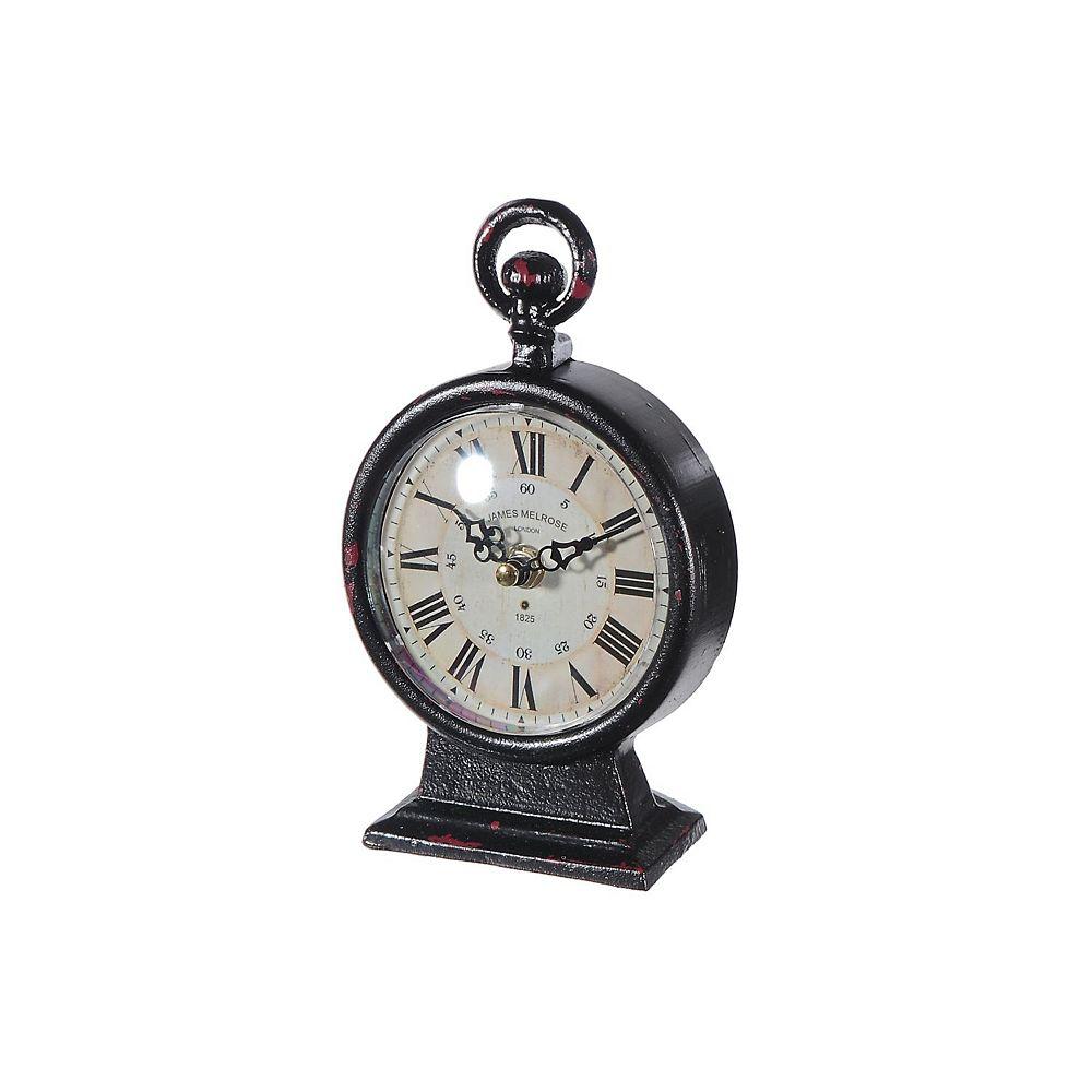 IH Casa Decor Iron Roman Table Clock