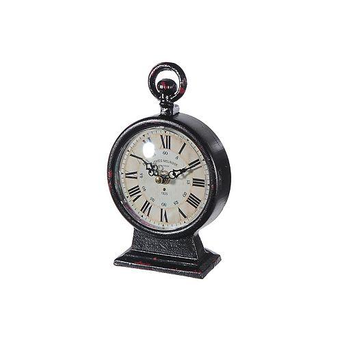 Iron Roman Table Clock