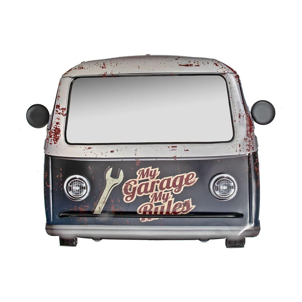 IH Casa Decor Vintage Metal Car Shape Mirror (My Garage My Rules)
