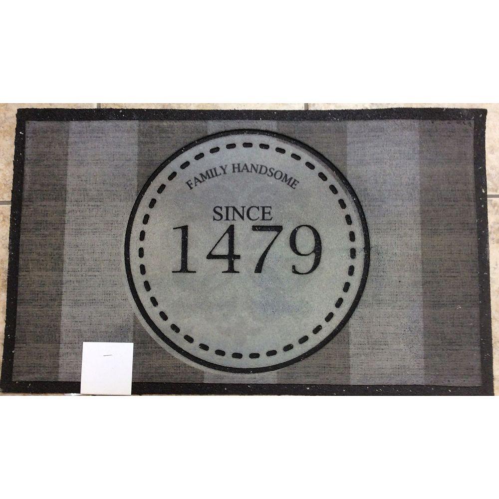 IH Casa Decor Heavy Rubber Door Mat (18X30) (Family Handsome)