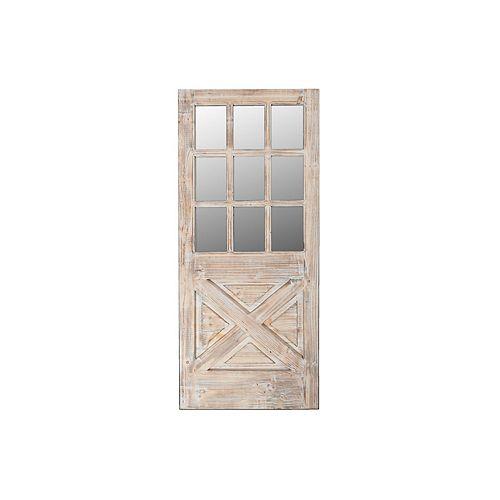 Cadre Porte En Bois Avec Miroir-Set of 0