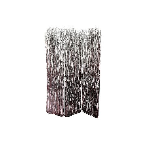 Brown Willow Branch Room Divider