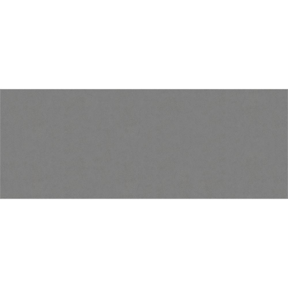 Enigma 18-inch x 47.2-inch Polished Engineered Stone Bench Dark Grey