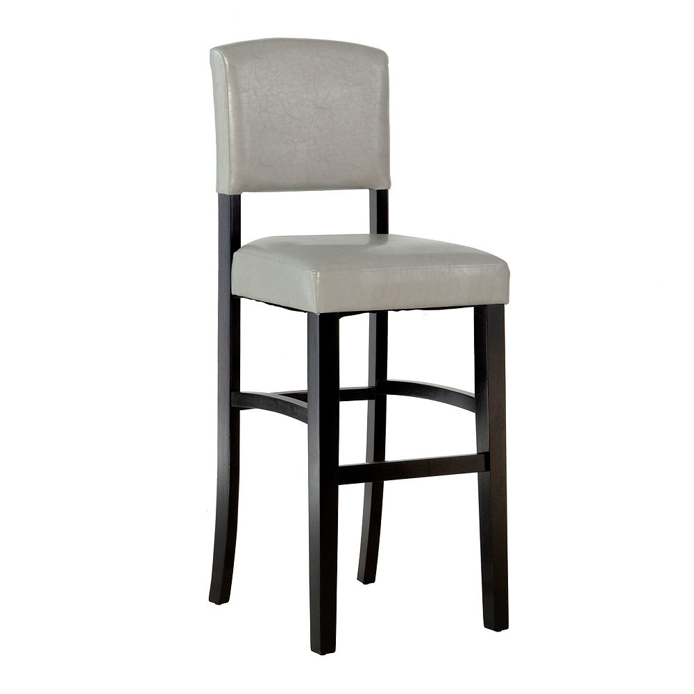 Linon Home Décor Products Ross Grey Counter Stool