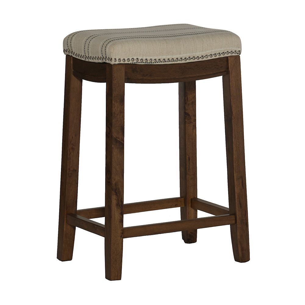 Linon Home Décor Products Claridge Natural Counter Stool