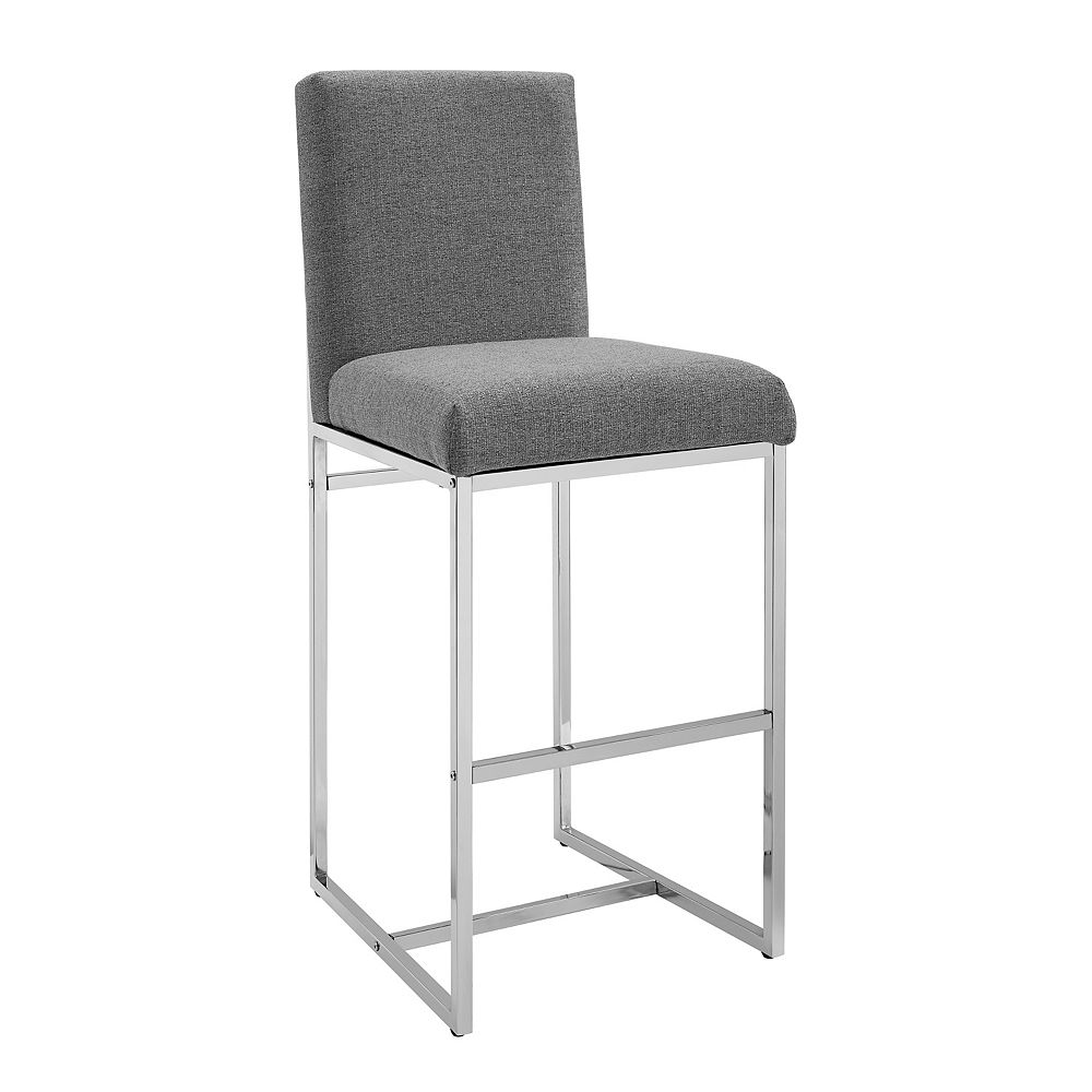Linon Home Décor Products Coen Barstool Grey