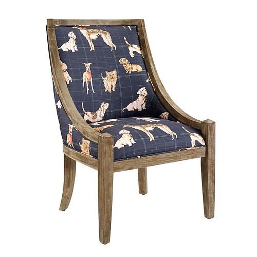 Westley Accent Chair Navy