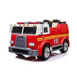 Camion de Pompier Porteur de 12 volts