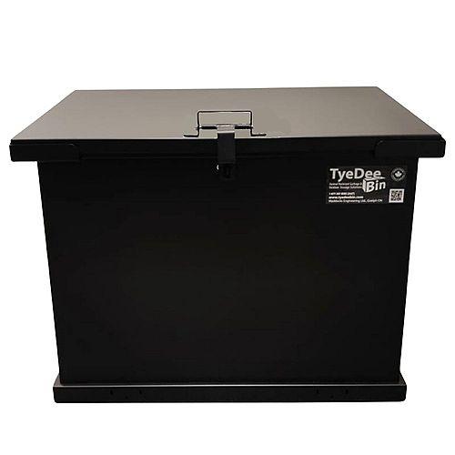 TyeDee Bin Cub Animal Resistant Storage Bin - Black