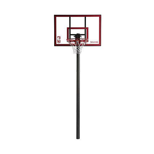Spalding Polycarbonate Inground Basketball System, 44-in