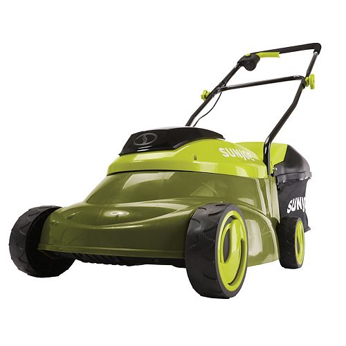 14 in. 24-Volt Cordless Brushless Lawn Mower Kit with 5.0 Ah Battery + Charger
