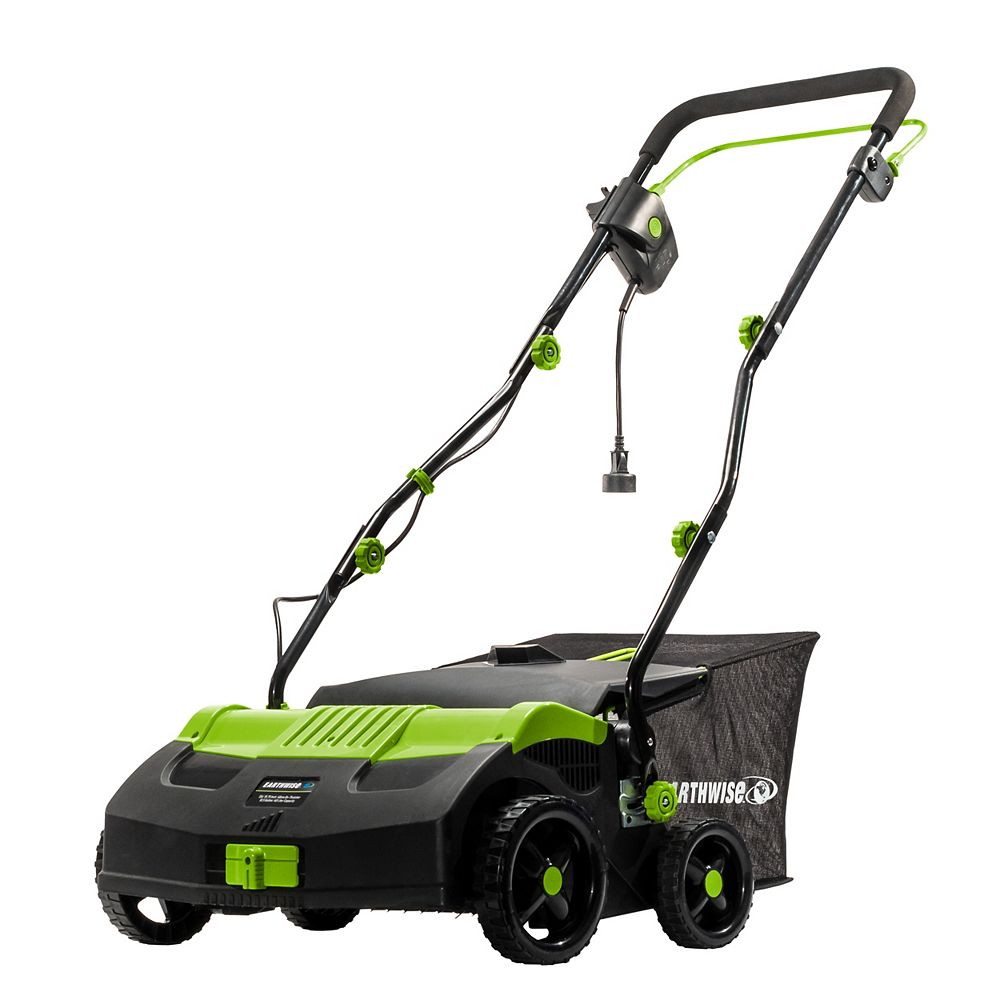 "Earthwise Earthwise 16"" 13Amp Corded Electric Lawn Scarifier Dethatcher"
