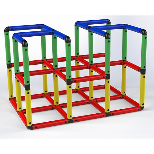 """Funphix """"Climbing Gyms""""- STEM Learning Colorful Buildable Indoor Outdoor for Kids Aged 2-12 Years"""