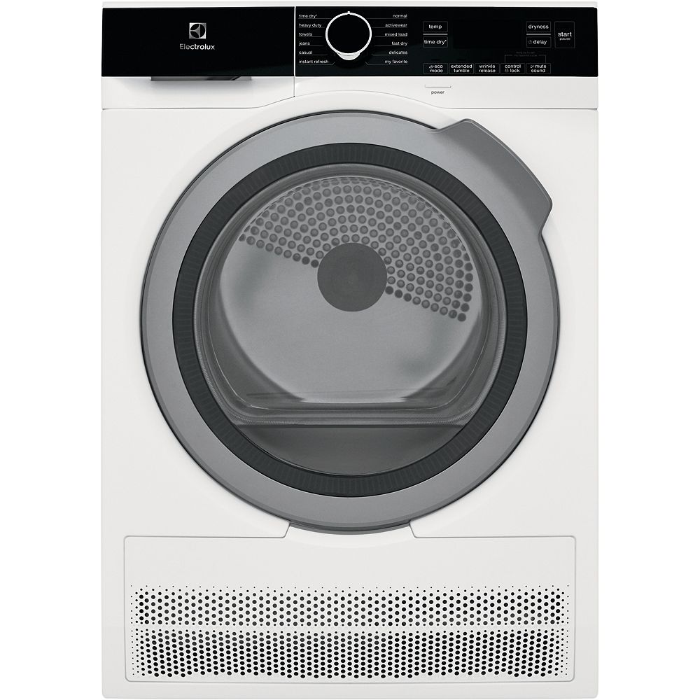 Electrolux 4.0 cu. ft. IQ Touch Ventless Electric Dryer in White - ENERGY STAR®