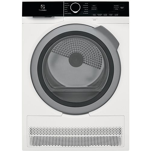 4.0 cu. ft. IQ Touch Ventless Electric Dryer in White - ENERGY STAR®