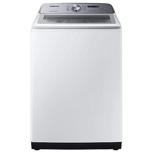 5.0 cu. ft. High Efficiency Top Load Washer with Active Water Jet in White - ENERGY STAR®