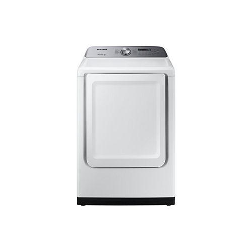 7.4 cu. ft. Electric Dryer with Sensor Dry in White - ENERGY STAR®