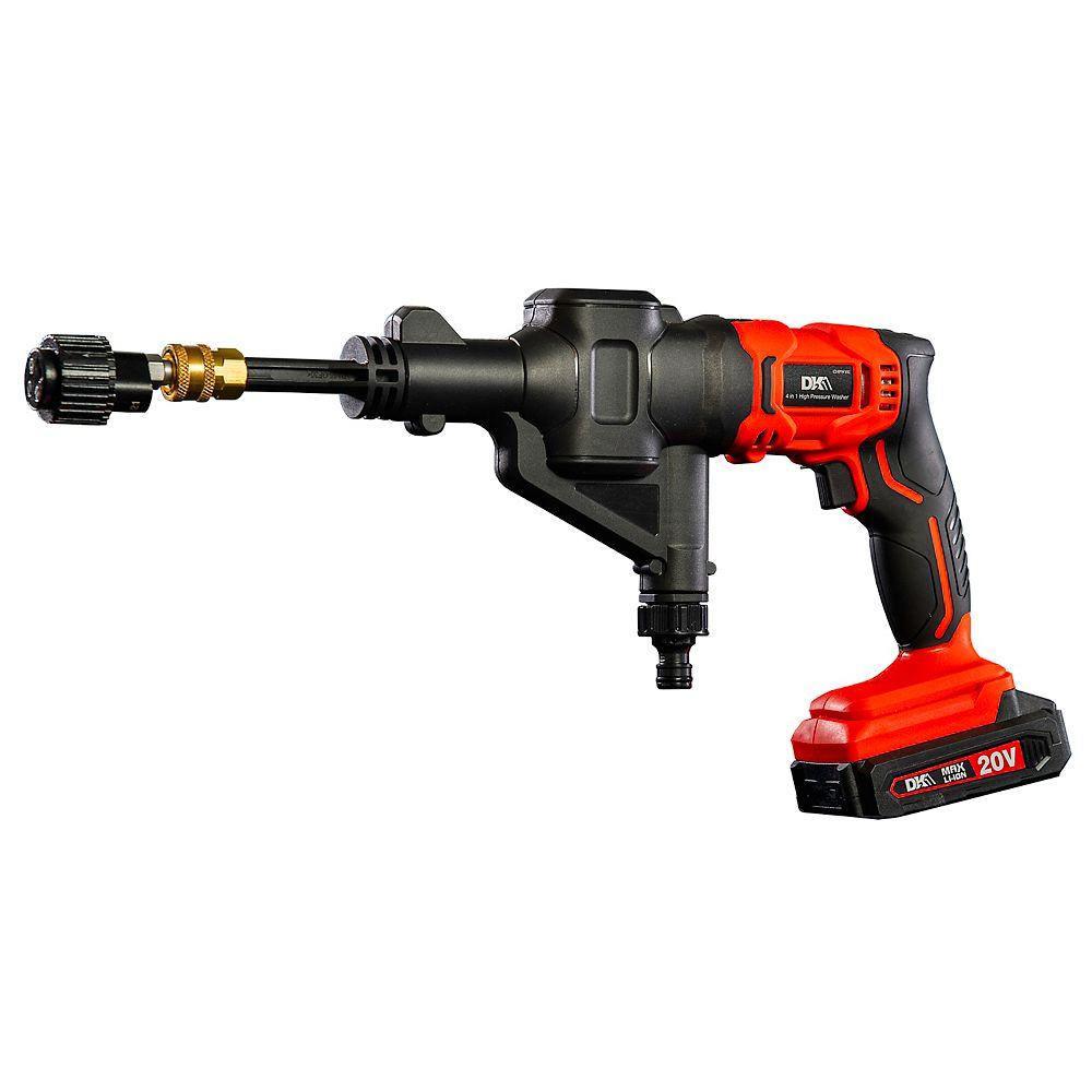 Detail K2 DK2 4 in 1 cordless tool kit