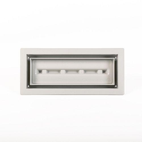 Aria Lite 4 inch x10 inch Vent Cover Grey