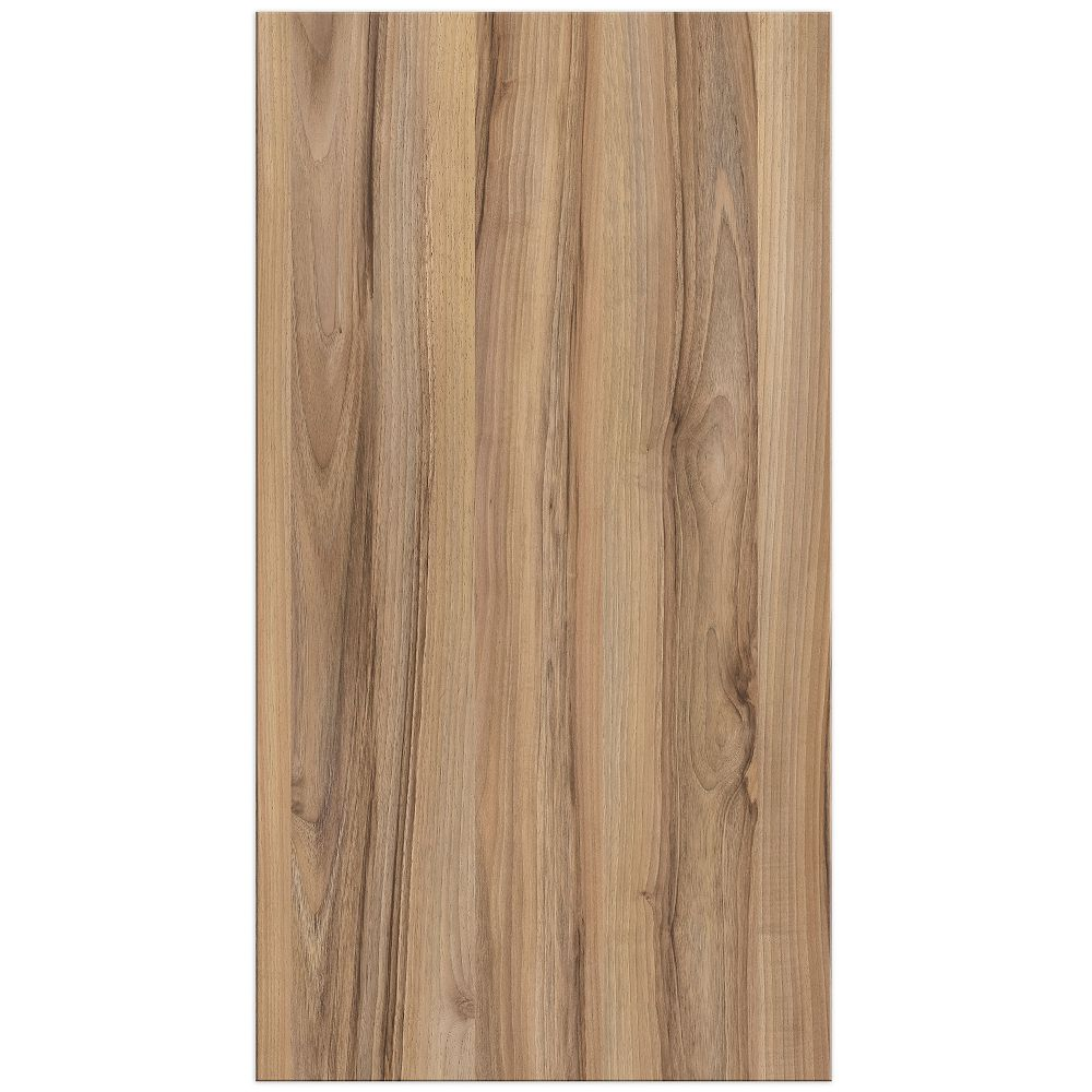Eurostyle Zurich - Door 17 x 30 inch - Light Walnut Melamine