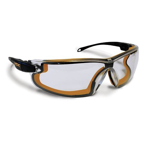 Clear Lens Safety Glasses with Arm and Band