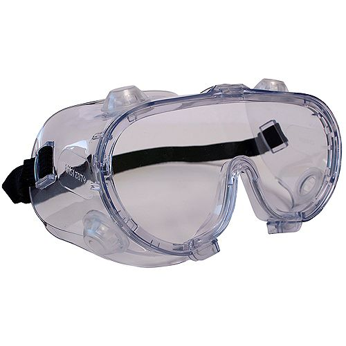 Indirect Ventilation Clear Safety Goggles
