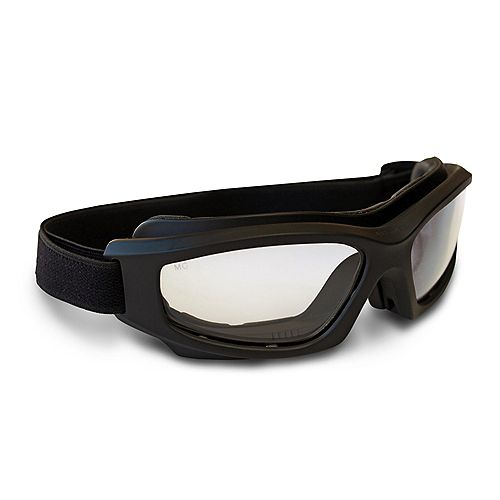 Dual-Lens Safety Glasses with Adjustable Vents