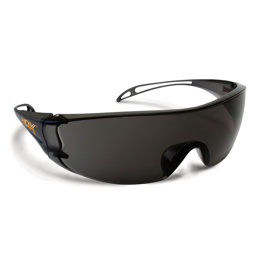 HDX Dielectric Smoked Safety Glasses