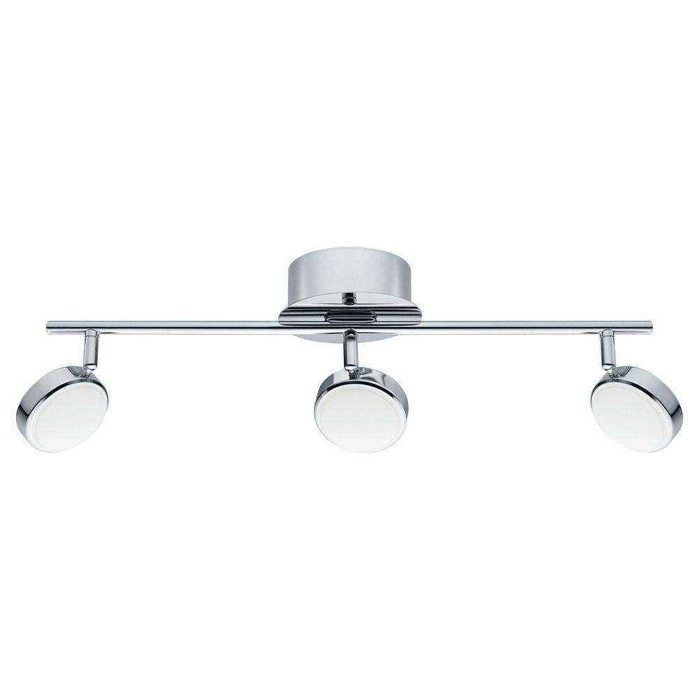 Eglo Salto 22 3-Light LED Chrome Track Light