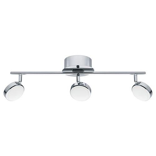 Salto 22 3-Light LED Chrome Track Light