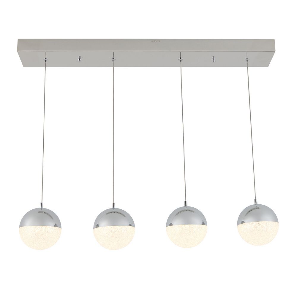 Artika Sparkle 4-Light LED Integrated Pendant