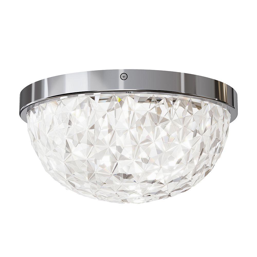 Artika Carat Chrome LED Integrated Flush Mount