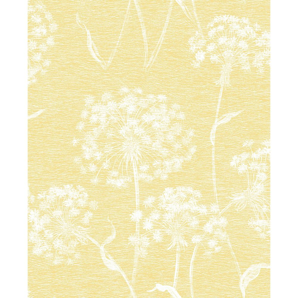 Advantage Garvey Yellow Dandelion Wallpaper