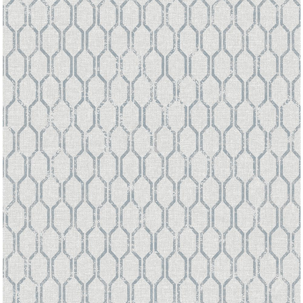 Advantage Elodie Light Grey Geometric Wallpaper